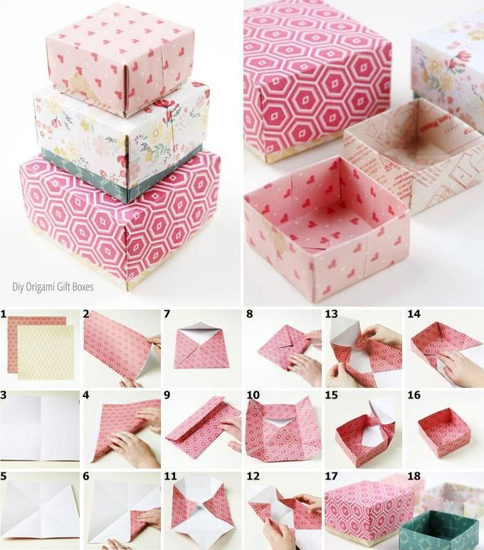 Как сделать подарочную коробку: 115 фото способов необычной стильной и оригинальной коробки