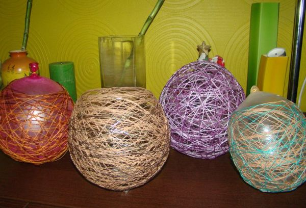 Мастер классы по изготовлению цветов из ниток своими руками