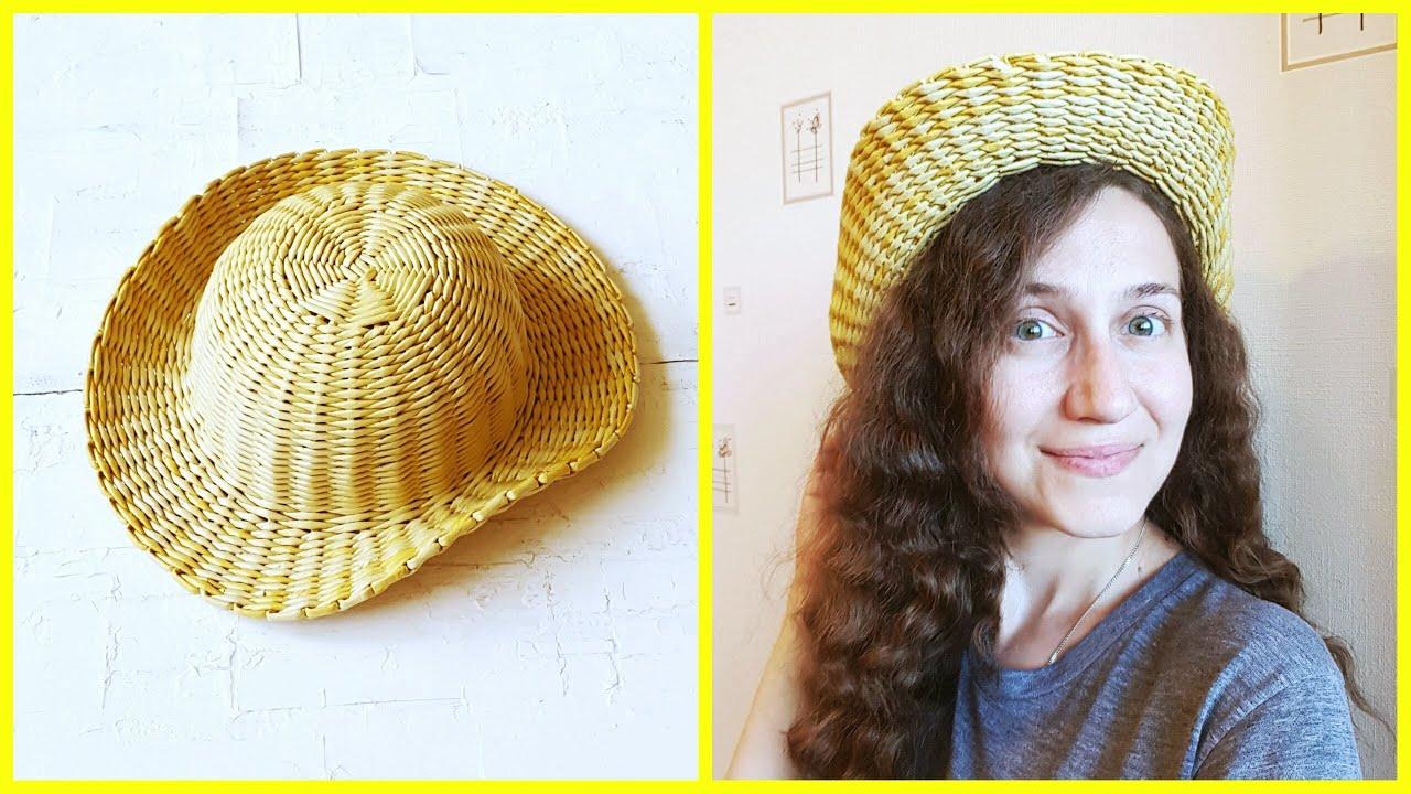 Дама в шляпке из газетных трубочек мк | страна мастеров