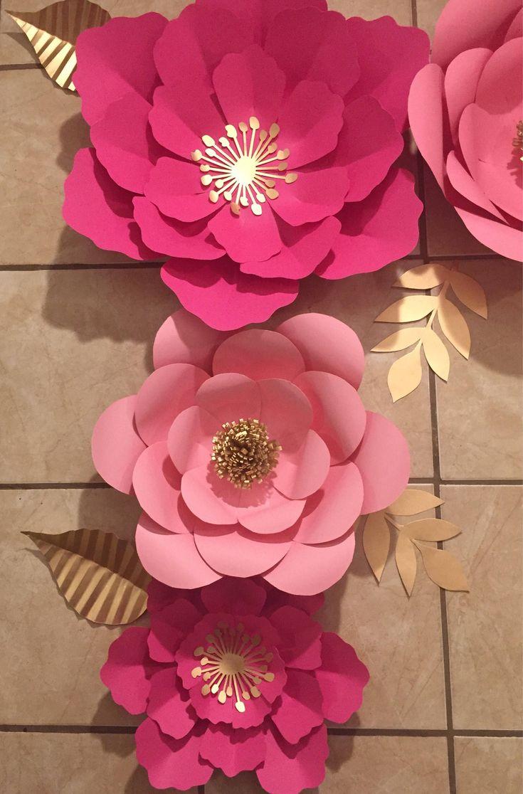 Цветы из бумаги своими руками: пошаговые фото изготовления для начинающих. шаблоны и схемы бумажных цветов для вырезания
