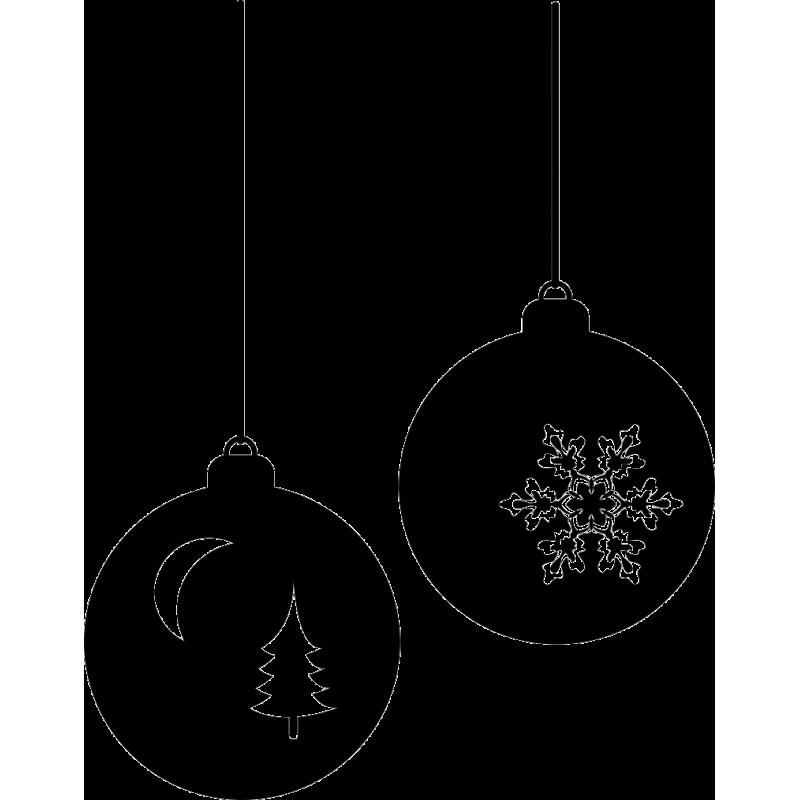Варианты изготовления новогодних шаров из ниток