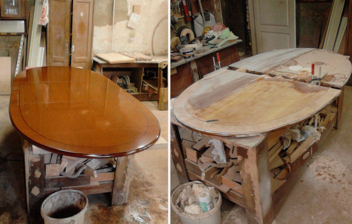 Реставрация деревянного стола: своими руками, этапы реставрации, подбор инструментов и материалов