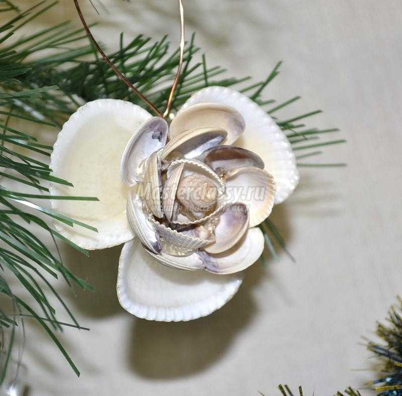 Бонсай топиарий ёлка новый год моделирование конструирование ёлочка из ракушек бусины ракушки