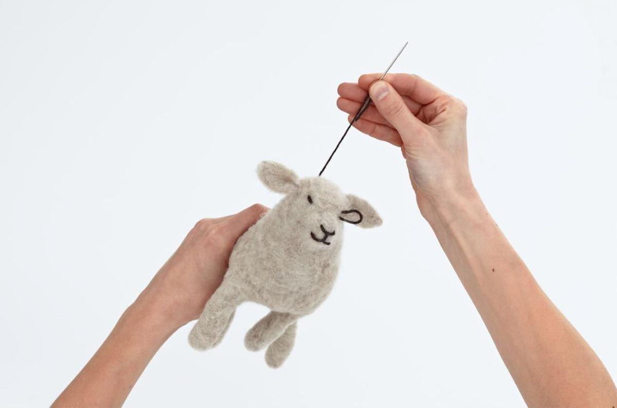 Как сшить овечку, фото, инструкция