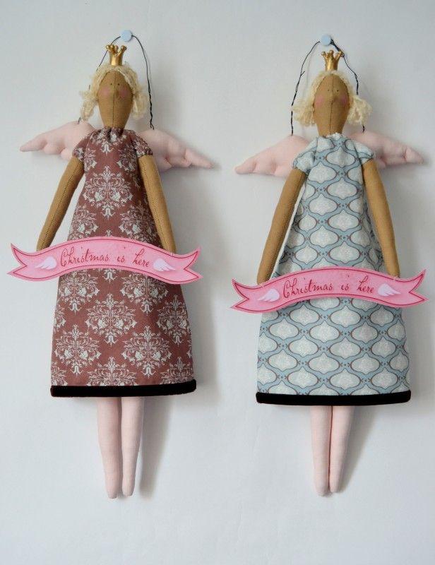 Интерьерные куклы своими руками