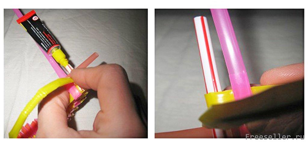 Браслеты из пластиковых трубочек: как сплести цветные фенечки пошагово, разные техники