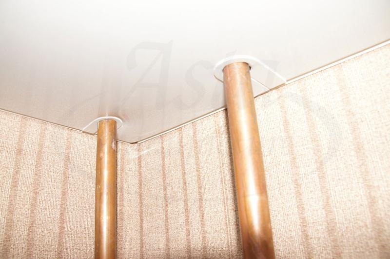 Как спрятать трубы отопления в квартире (фото)
