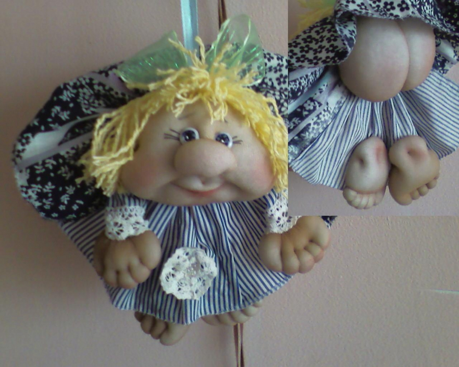 Куклы своими руками из колготок попики. кукла попик в чулочно-текстильной технике. секреты создания поделочных куколок из капрона