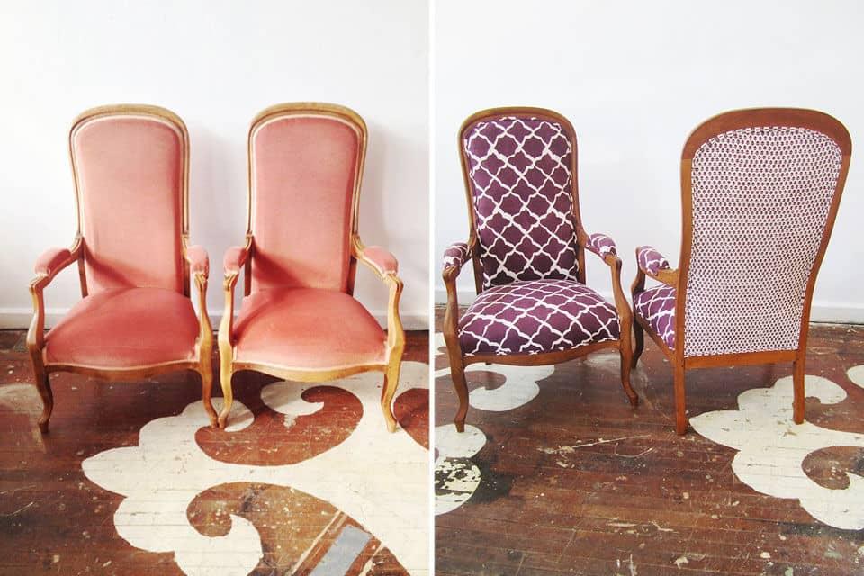 Советы по реставрации кресла