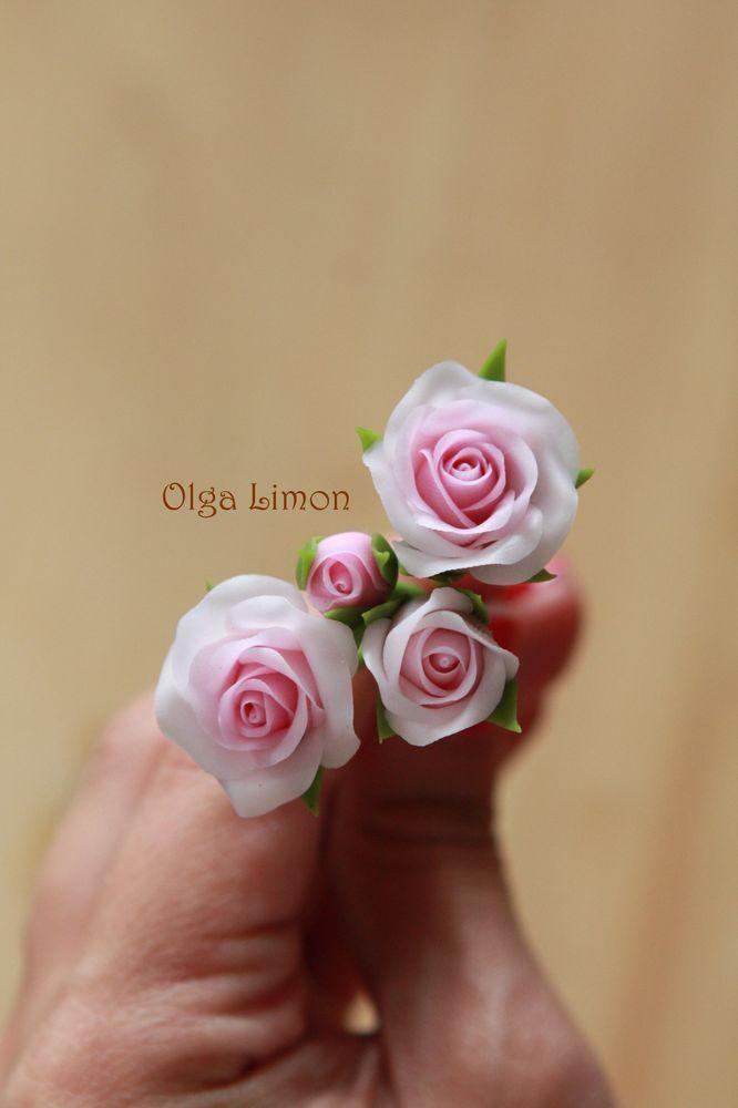 Цветы из полимерной глины своими руками - 7 мастер - классов с пошаговыми фото