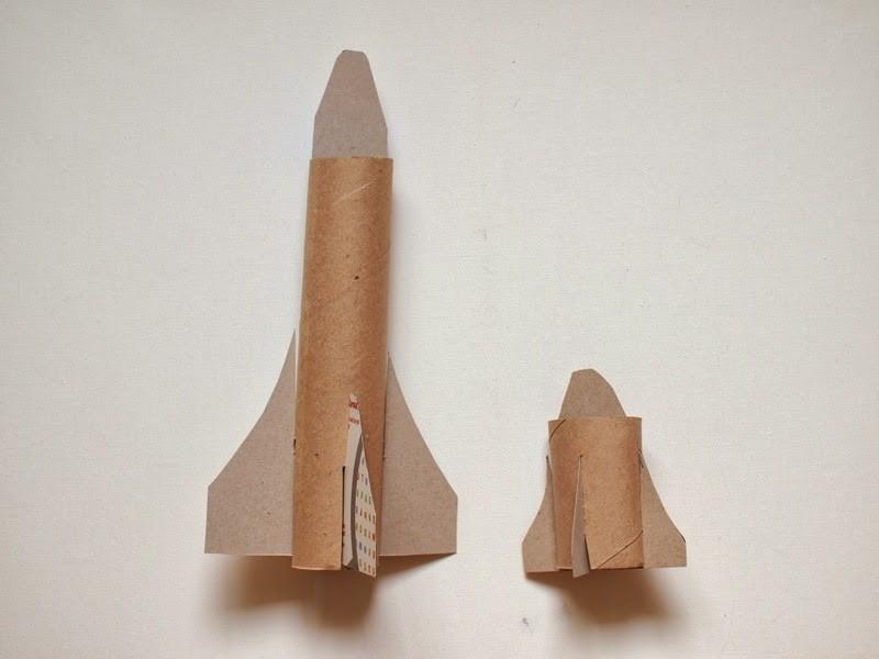 Как сделать ракету из бумаги: фото, видео