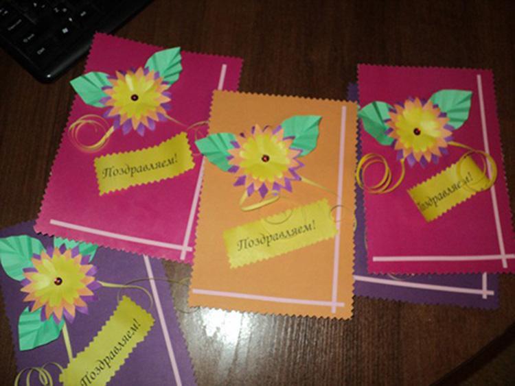 Открытка для учителя с днем учителя: как сделать своими руками из бумаги в начальной школе
