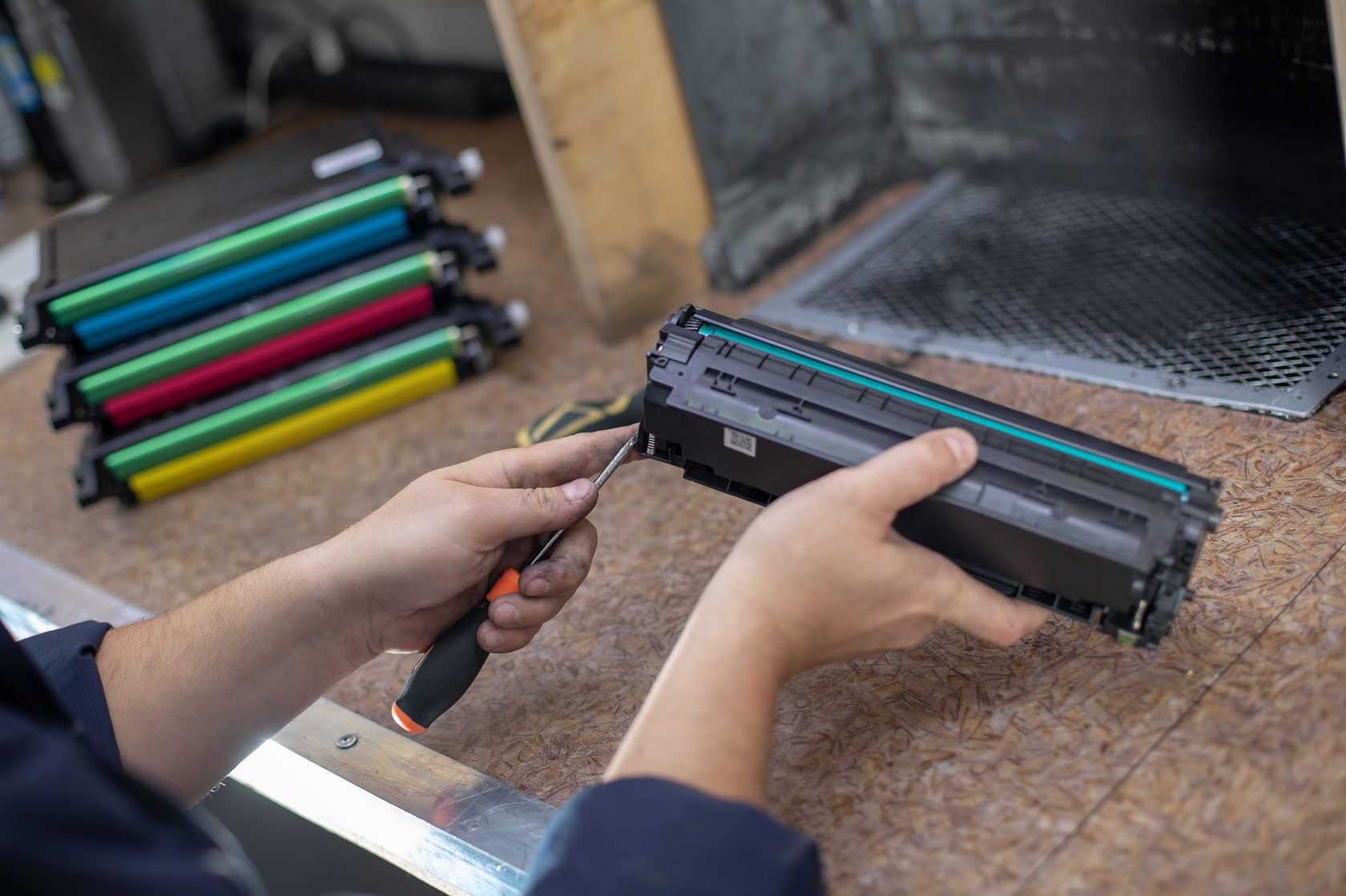 Как заправить картридж струйного принтера