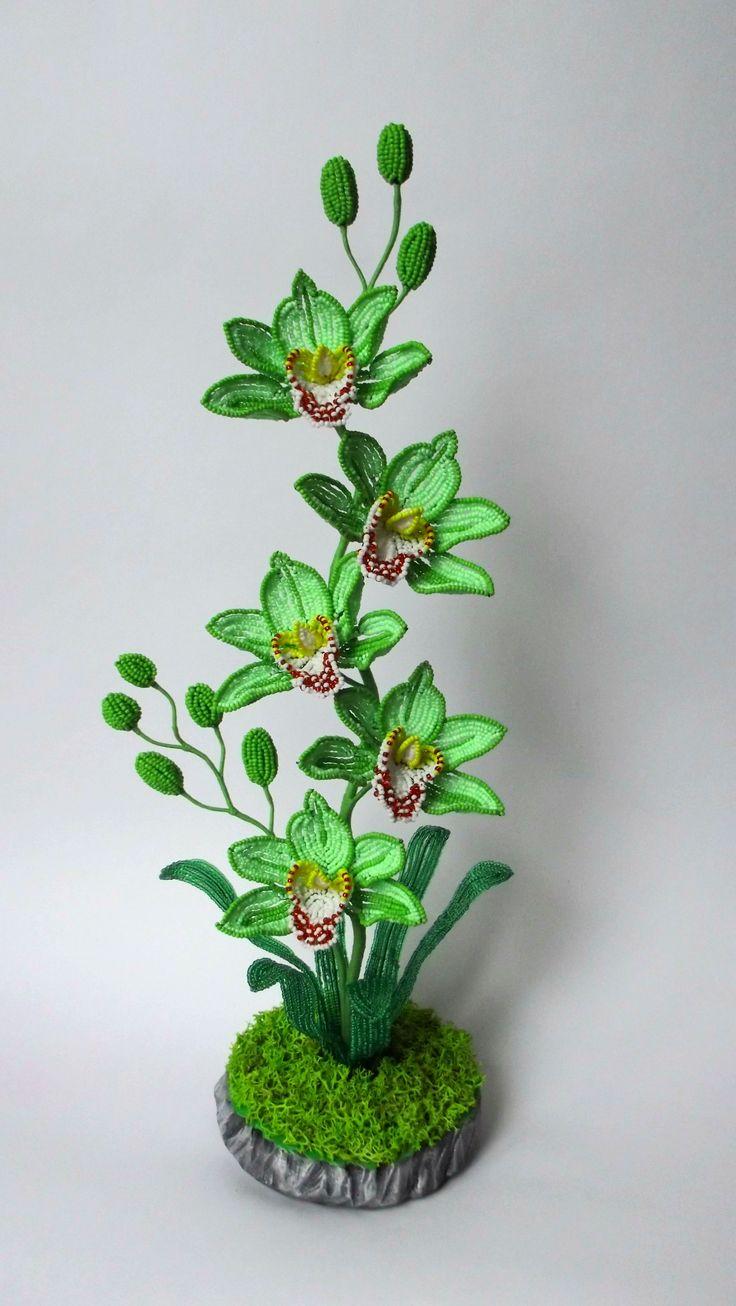 Бисерная флористика (часть 3) основы бисероплетения, цветы из бисера – бисерок