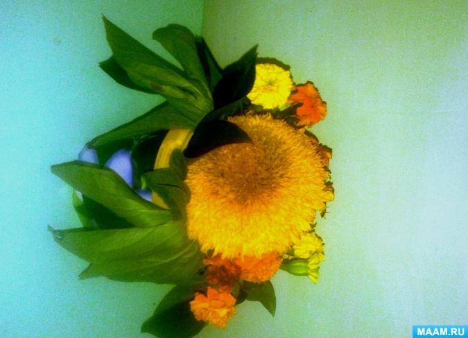 ᐉ букет из листьев в садик. букеты осенних цветов своими руками ✅ igrad.su