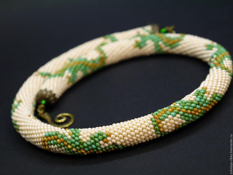 Плетение жгута из бисера для начинающих: 5 + схем