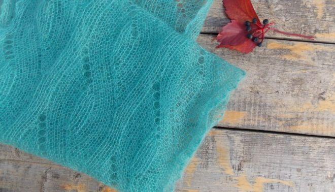 Ажурный шарф спицами схемы и описание (фото) - красивые узоры для шарфиков