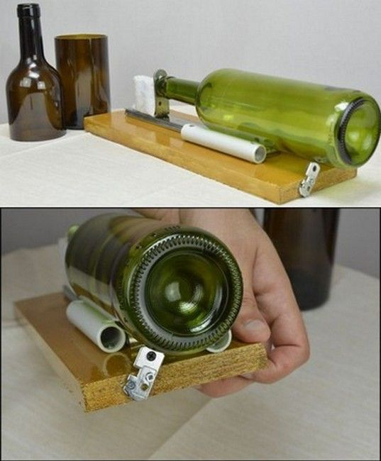 Эффективные способы разрезать бутылку из стекла, правила безопасности