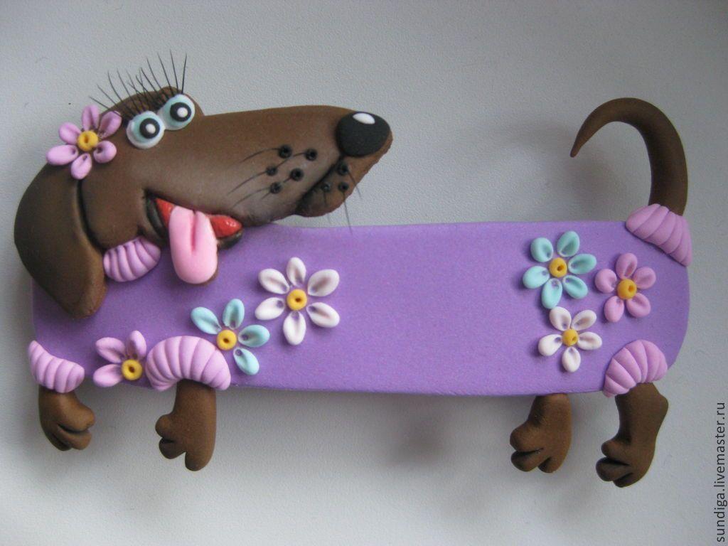 Собачка пудель, вязание крючком