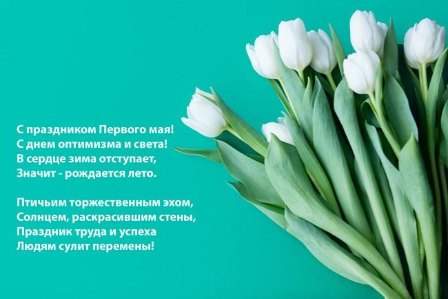 Добрые  поздравления с 1 мая