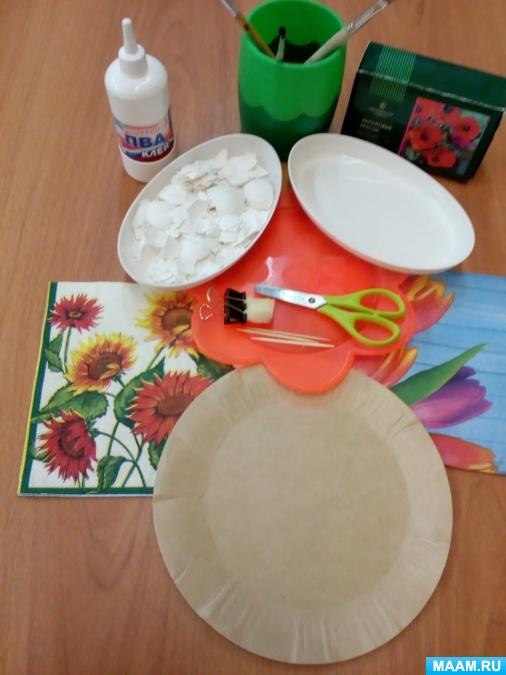 Мастер-класс «декорирование пластиковой тарелки в технике «декупаж». воспитателям детских садов, школьным учителям и педагогам