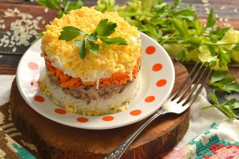 """Салат """"мимоза"""" – кулинарный рецепт"""