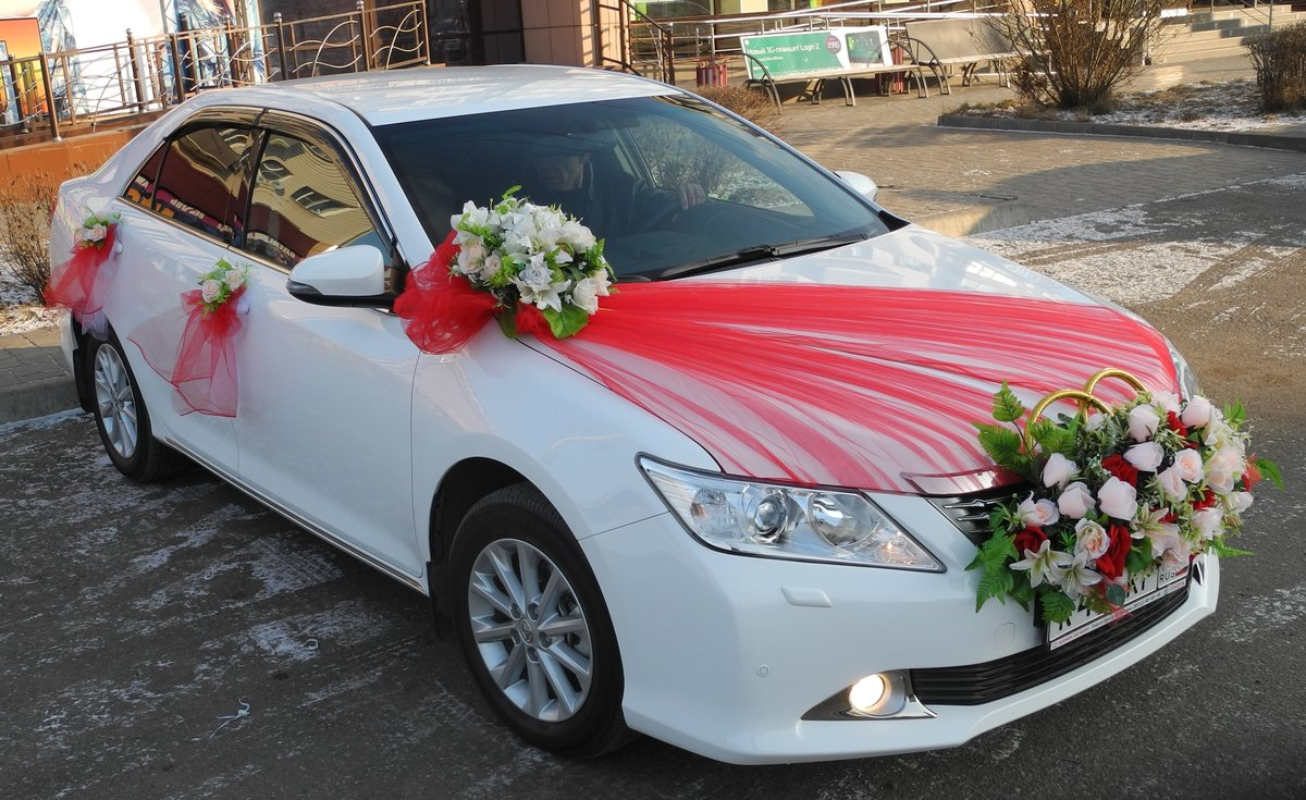 Украшение свадебной машины своими руками