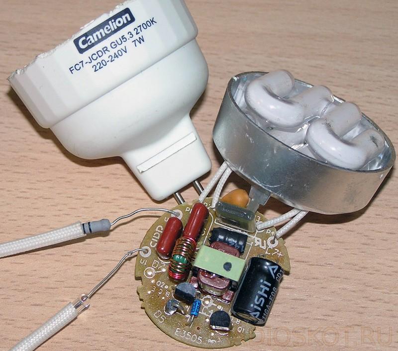 Ремонт энергосберегающих ламп своими руками: поиск и устранение неисправностей