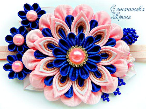 Цветы из атласных лент своими руками. мастер класс для начинающих, пошаговая инструкция канзаши цветов 2.5 см, видео уроки