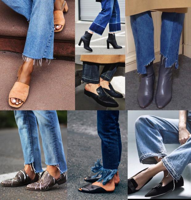 Как укоротить джинсы в домашних условиях | энциклопедия обуви
