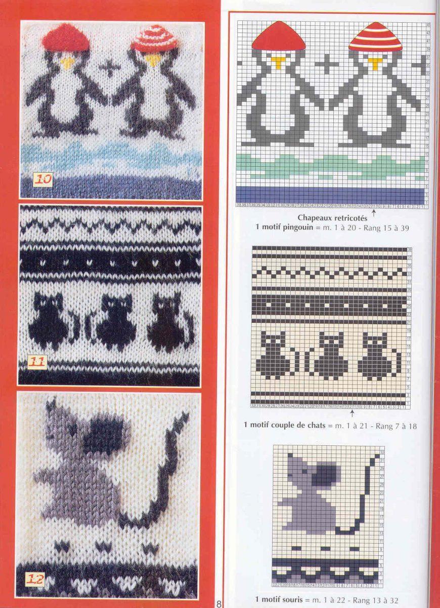 Детские носки с узором (вязание, схемы и фото) - irena handmade