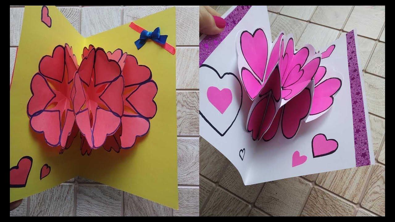 ᐉ 3d открытка с цветами - своими руками -