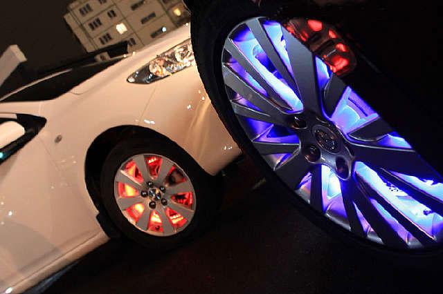 Подсветка колесных дисков