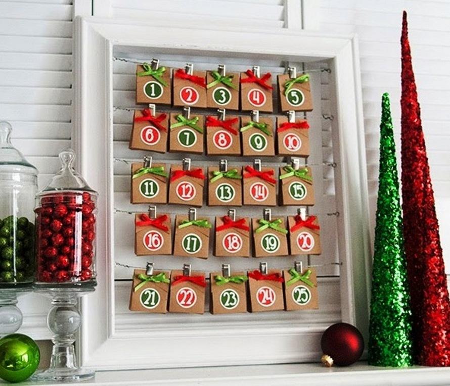 Адвент-календарь: новогоднее приключение для всей семьи (идеи и шаблоны) | вдохновение (огород.ru)