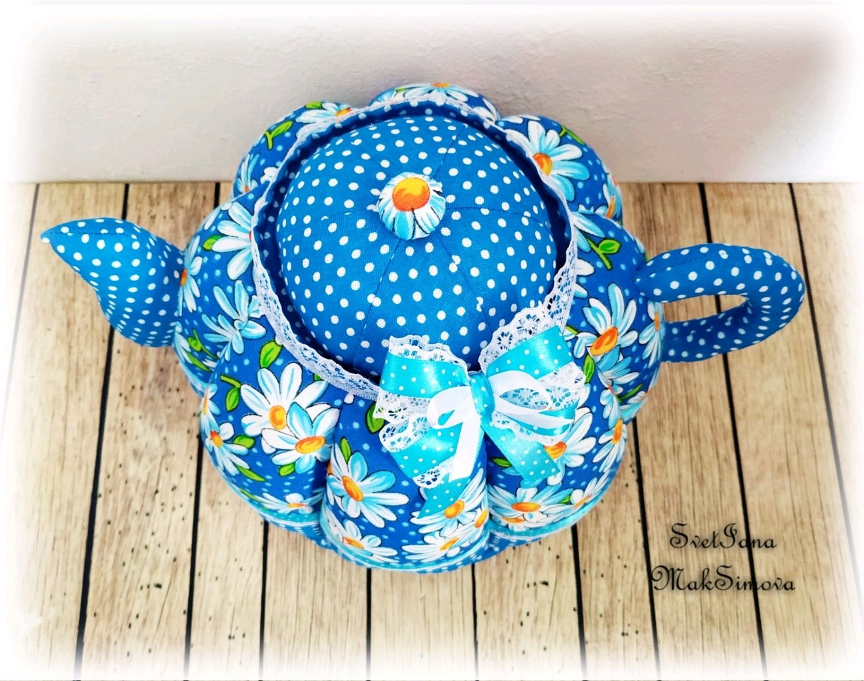 Грелки на чайник своими руками: построение выкройки, подбор ткани для основы и костюма