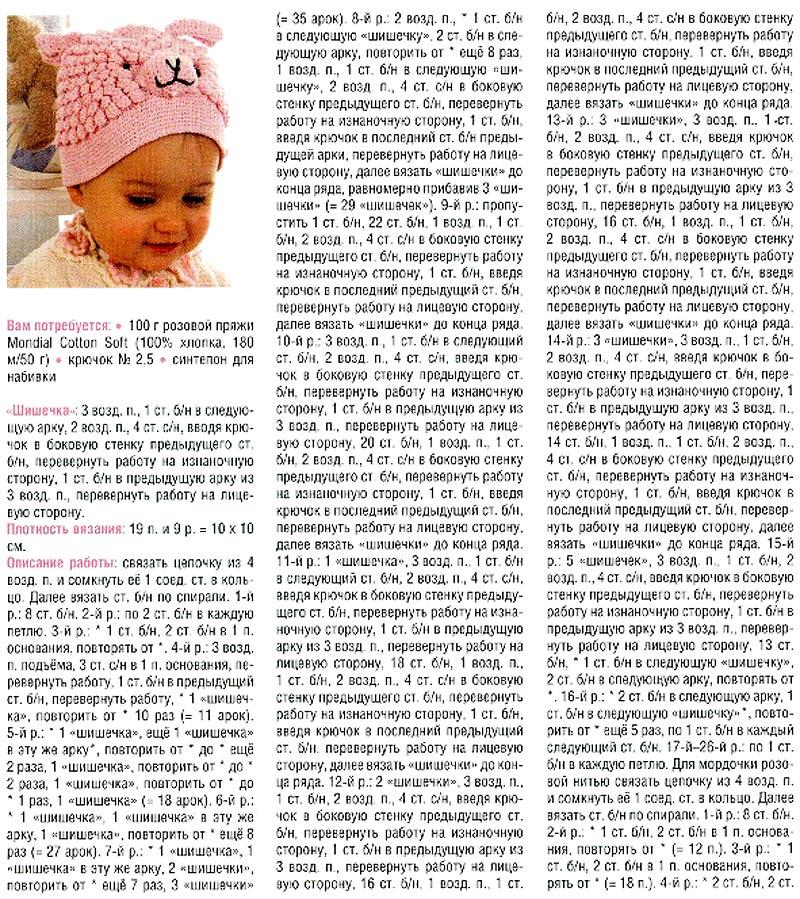 Шапочка для новорожденного спицами мастер класс ? как вязать для мальчика и девочки, размеры для детей