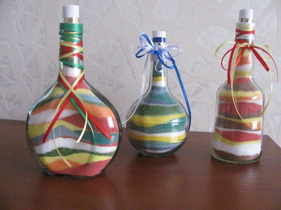 Декор бутылок своими руками: вдохновляющие идеи