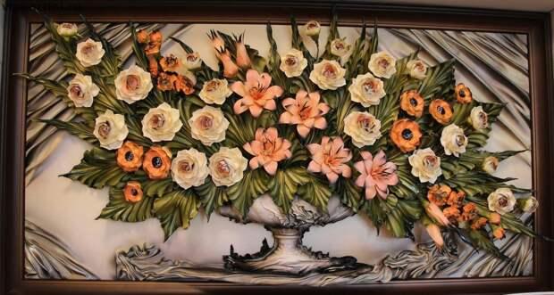 Картина из трех цветов — своими руками