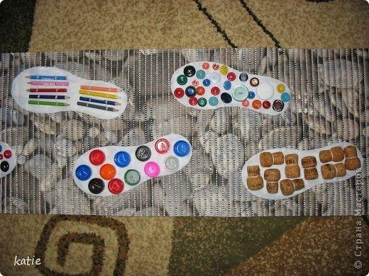 Массажный коврик для детей своими руками (45 фото): ортопедические модели для массажа детских стоп с пуговицами