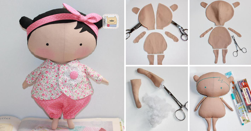 Выкройка куклы тильда ? мастер класс как шить куклу тильду с фото