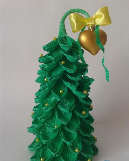 Поделки из гофрированной бумаги: создаем цветы, елку, новогодние аппликации своими руками в домашних условиях
