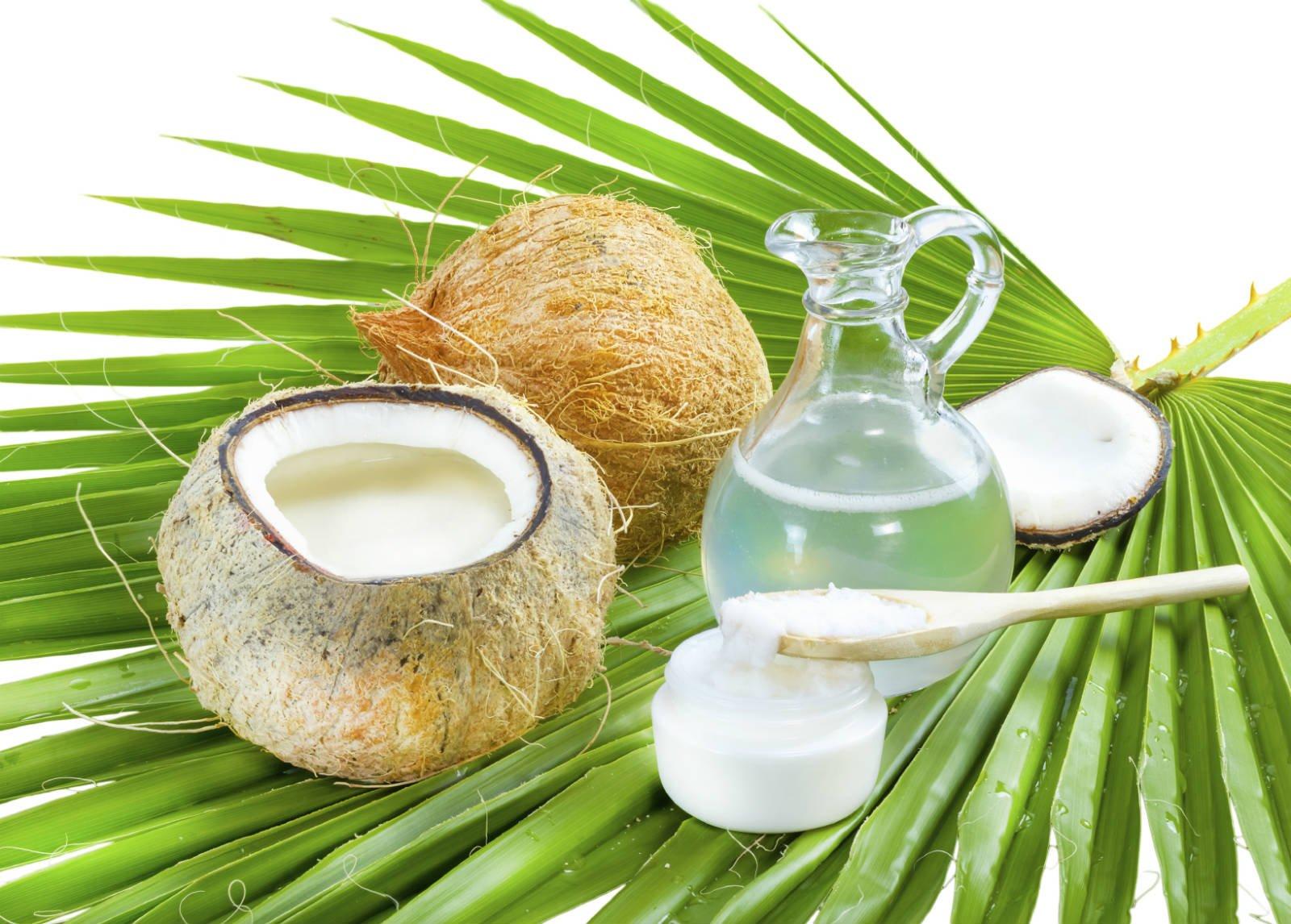 Кокосовое масло для тела - от солнца, морщин, рубцов, для губ