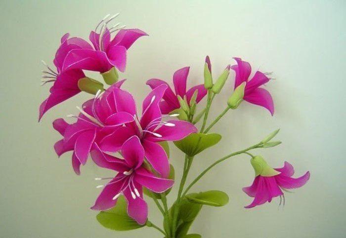Мк из капрона цветы – цветы из капрона и проволоки своими руками: материалы, мастер-классы по сборке листьев, цветов, тычинок