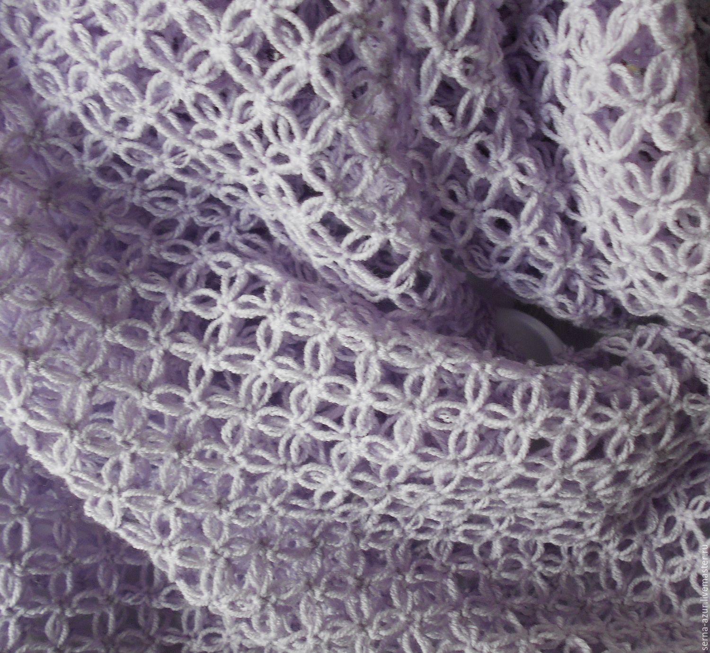 Вяжем спицами красивые шарфы, подборка схем вязания