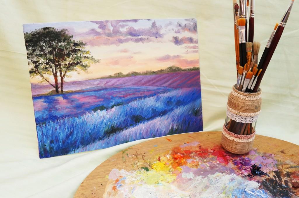 Рисуем портрет акриловыми красками - своими руками