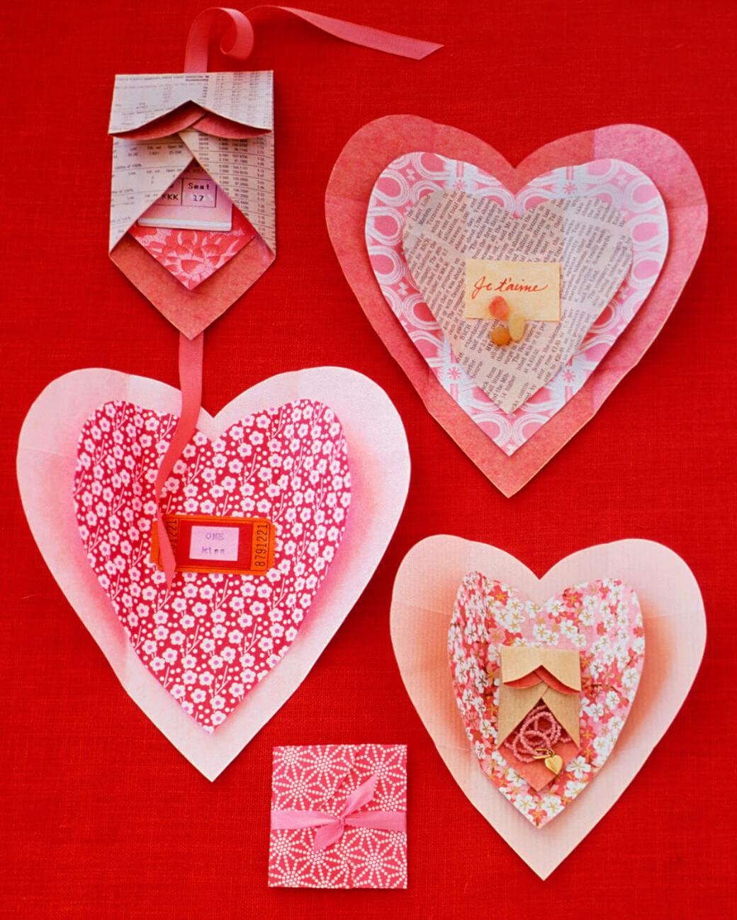 Оригинальные валентинки – символ любви своими руками