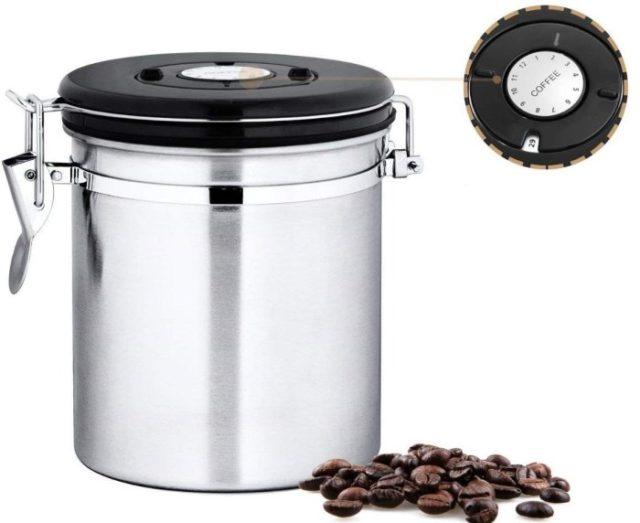 Емкость для хранения кофе