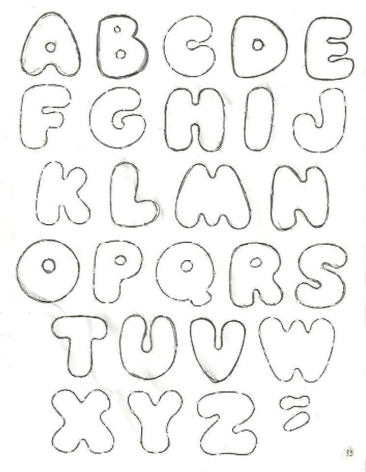 Буквы из фетра своими руками: выкройка и шаблоны для самостоятельного изготовления - сайт о рукоделии