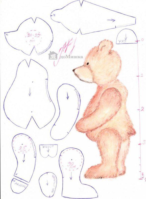 Тедди мишка своими руками: мастер-класс и секреты изготовления