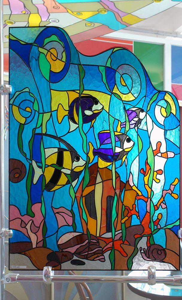 Витраж на стекле своими руками. как нарисовать витраж на стекле